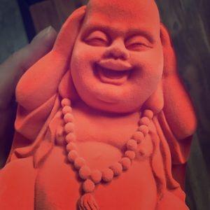Cute Laughing Buddha Statue Figurine Decor